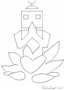 Lotus robot: peace angels from the future